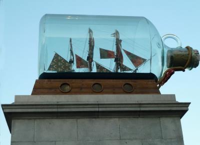 Ship in the bottle - London