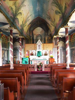 Missionskirche auf Hawaii