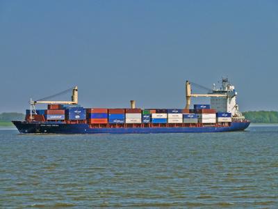 Containerschiff I