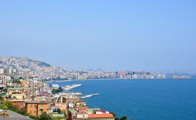 Panoramablick auf Neapel