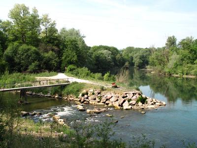 Erholungspause am Fluss