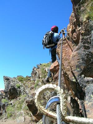 Klettersteig Baltschieder