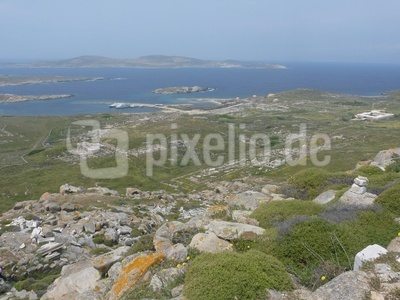 Delos: griechische Ausgrabungen 5