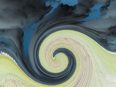 gelbe Welle