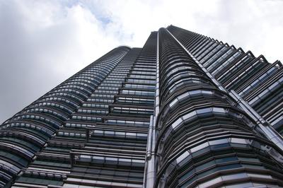 Fassade eines Petronas Towers