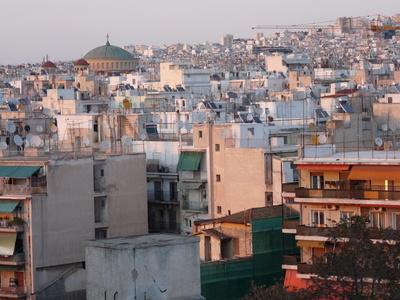 Baustelle Griechenland