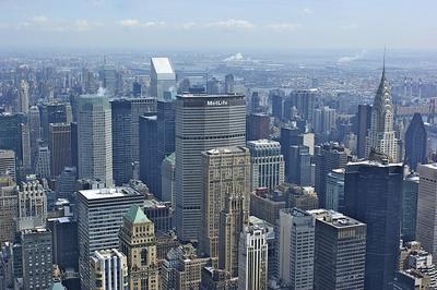 Aussicht von Empire State Building 2