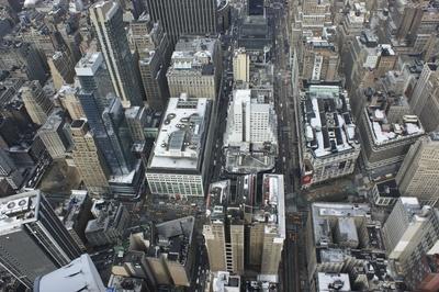 Aussicht von Empire State Building 4