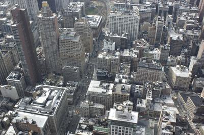 Aussicht von Empire State Building 5