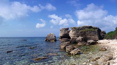 Felsenlandschaft um ,Bonifacio
