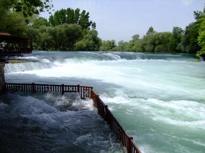 Wasserfall in  Manavgat ( Türkei)