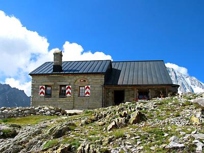 Schweizer Berghütten: Baltschiederklause