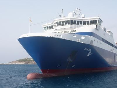 Fähre vor Naxos 2