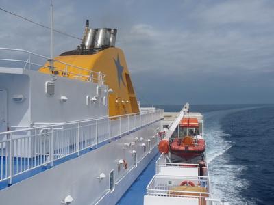 Fähre vor Naxos 3