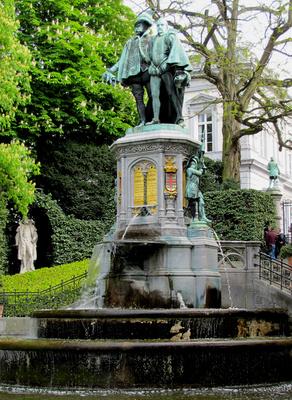 Brüssel, Graf Egmont und Hoorn