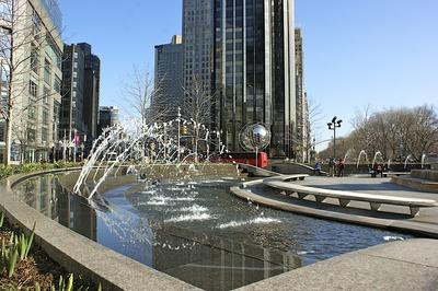 Brunnen am Columbus Circle