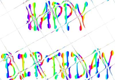 Happy Birthday Raster