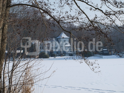 Bootshaus Speckenbüttel im Winter