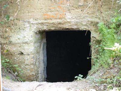 Bunkereingang
