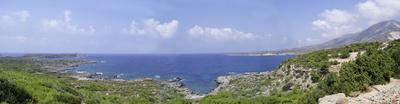 Panorama Kreta Nordküste