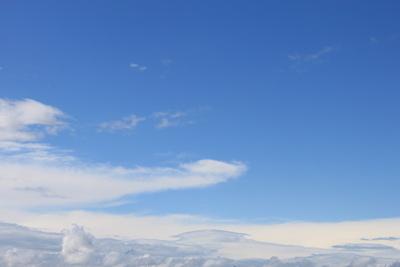 Eintauchen in das Wolkenmeer
