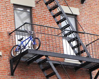 Manhattan - Abstellplatz für Fahrrad