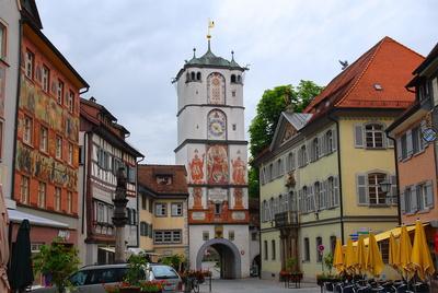 Das Ravensburger Tor in Wangen i. Allg.