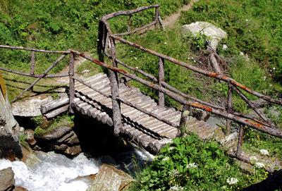 Brücke übers Bacherl