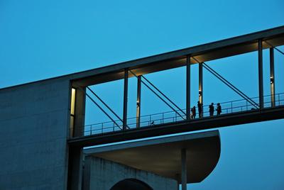 Berlin, Brücke am Paul-Löbe-Haus