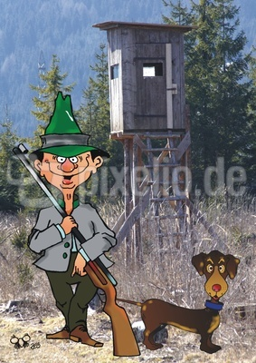 Hallali zur Jagd