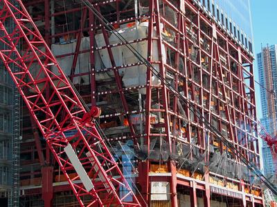 Stahlbau in Manhattan