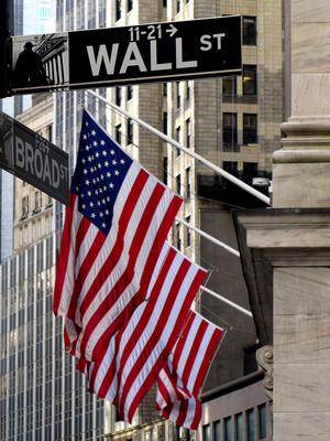 Wallstreet Ecke Broadstreet, Manhattan