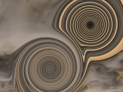 2 Spiralen graubraun