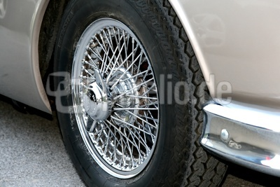 Jaguar MK2 - Detail Rad