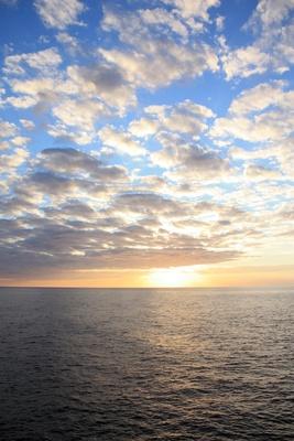 Sonnenuntergang in Binidali