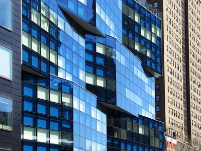 Fassaden-Effekte in Chelsea, Manhattan