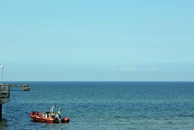 Erster deutscher Windpark in der Ostsee