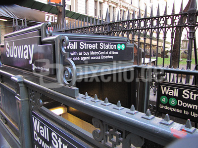 Wallstreet Subway Station