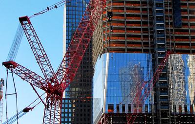 Bauarbeiten in Ground Zero, Manhattan_2