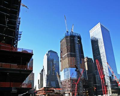 Bauarbeiten in Ground Zero, Manhattan_3