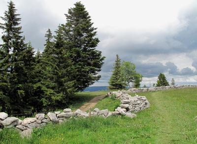 Juralandschaft in der Westschweiz
