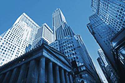 Manhattan - Finanzviertel Wallstreet Nassaustreet