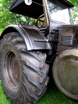 Traktor-Oldie mit viel Profil