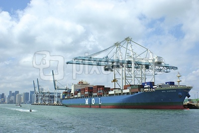 Containerfrachter Miami