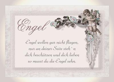 Engel wollen ....