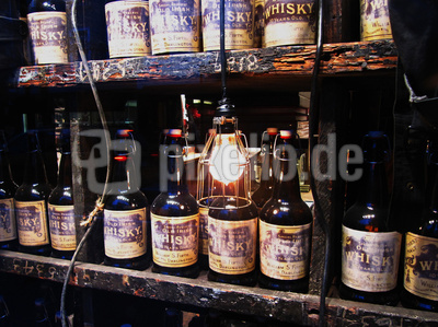 Whisky-Deko in Manhattan