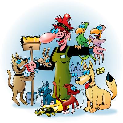 Berufsbilder: Tierpfleger