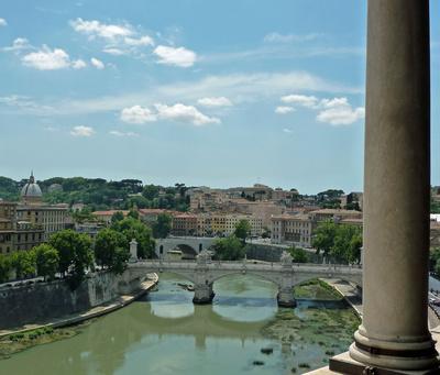 Tiber & Stadt