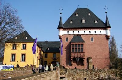 Wasserschloss Burgau zu Düren #2