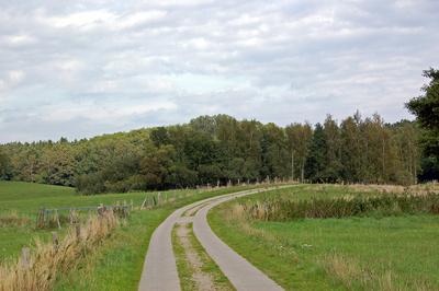 Auf dem Rundwanderweg um den Nonnensee bei Bergen auf Rügen